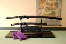 Japanese value Sword Katana Musashi dual wield set w/ Katana, Wakizashi