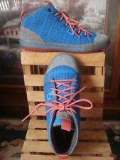 NWOB~ HELLY HANSEN FASHION WINTER UNIQUE BLUE & GRAY SUEDE HIGH TOP SNEAKERS~ 7M