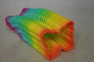 Large Butterfly Shape Rainbow Magic Toy Spring Slinky Fun Kids Toy Magic Stretch