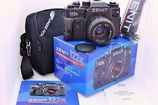 New Export ZENIT 122K camera with lens MC Zenitar K2  2/50 USSR SLR 35mm film