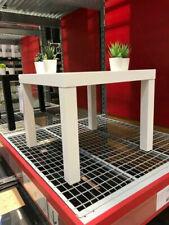 Ikea Lack Table D'Appoint Blanc Basse de Télévision Salon