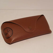 Ray Ban Sunglasses Eyeglasses Soft CASE ONLY Brown Faux Leather NO GLASSES