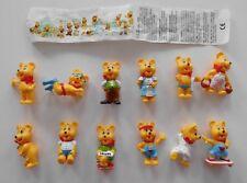 Set di personaggi estranei completamente frase HARIBO ORSO D'ORO serie 1 goldbärenfamile incl. BPZ