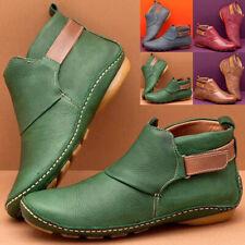 Женские повседневные плоские туфли без задника из искусственной кожи острый носок мокасины сапоги износ