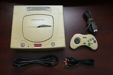 Sega Saturn White Console Japan import SS system US Seller Please Read