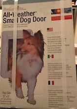 "Perfect Pet All Weather Small Dog Door Energy Saver 5""x9"" Flap Nib"