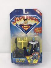 Superman - Evil Alien Brainiac Action Figure - DC Comics Kenner 1996