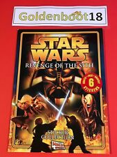 STAR WARS REVENGE OF THE SITH MERLIN 2005 STICKER COLLECTION ALBUM BOOK UNUSED