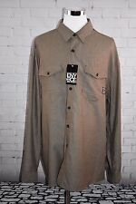 NWT Mens Enyce by Sean Combs Button Down Long Sleeve Roll Tab Shirt Size 4X