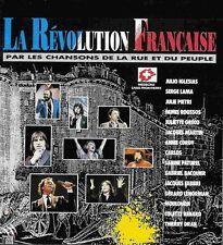 CD La révolution française julio iglesias gerard lenorman juliette greco lama