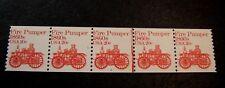 US PNC Strip Stamp Scott# 1908  Transportation  Strip of 5 P# 6  MNH 1984  L185