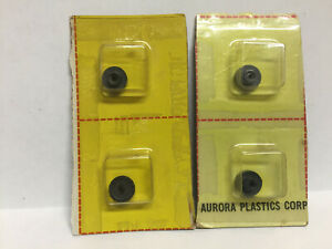 AURORA T-JET RARE (4) CARDED  NOS REAR AXEL CROWN GEARS   Model Motoring HO AFX