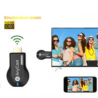 AnyCast DLNA Wireless WiFi 1080P Full HD HDMI TV Stick Chromecast Airplay Dongle