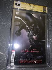"Batman #77 CGC SS Variant Signed By Clayton Crain ""Death Of Alfred Pennyworth"""