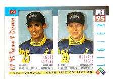 Ligier F1 Team Drivers | Aguri Suzuki | Olivier Panis | Formula 1 Racing Card