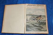 rivista DOMENICA DEL CORRIERE ANNATA COMPLETA 1911 (RILEGATA)