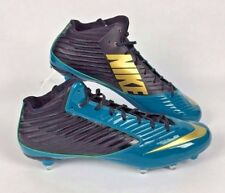 Nike Vapor Speed D 3/4 Football Cleats Mens 16 Teal Black 668853-015