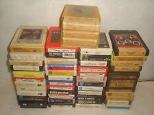8 TRACK TAPE LOT 51 TAPES ROCK DYLAN TULL JOPLIN CHER ROSS TAYLOR FRAMPTON YOUNG