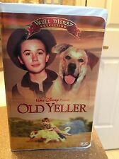Old Yeller Vault Disney Collection VHS