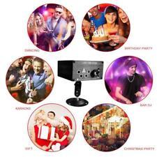 120 Muster RGB Laserlicht DJ Projektor Disco LED  Beleuchtung für Home Party