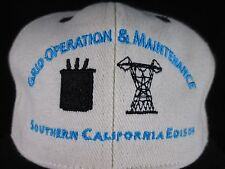 NEW SOUTHERN CALIFORNIA EDISON GRID OPERATION MAINTENANCE SAFETY 1ST SCE CAP HAT