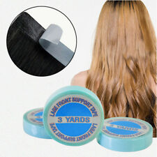300cm Azul Fuerte Adhesivo Doble Cara Rollo de Cinta Extensiones de Cabello Tape