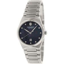 New Victorinox 241536 Swiss Army Victoria Purple MOP Diamond Women's Watch