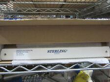"""(10) Sterling Diamond Saw Works 10340 Power Hacksaw Blades 14"""" X 1-1/2 X .075 6T"""