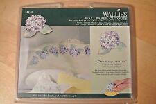 Wallies Hydrangea Wallpaper Cutouts-Pre Pasted-25 Hortensia-#12148-