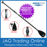 AQUATRACK FIBREGLASS/NYLON TELESCOPIC SUP PADDLE - 3-Piece Stand up Paddle Board