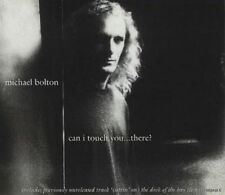 MICHAEL BOLTON CAN I TOUCH YOU ....THERE UK CD SINGLE CD 2 FREE P&P