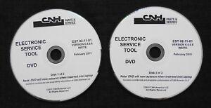 CUSTODIA HOLLAND CNH ELECTRONIC SERVICE TOOL SOFTWARE VERSION 6.4.0.0 FEB 2011