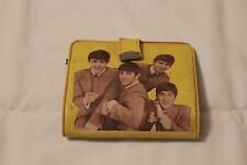 1960's Beatles Yellow Wallet w/Comb, plastic & picture coin holders, & Nail File