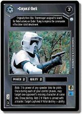 Star Wars CCG Endor DS Rare Corporal Oberk