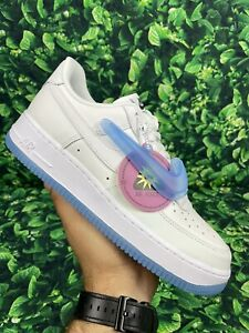 UV Color Changing Nike Air Force 1 '07 LX White Blue Purple Size 9.5 DA8301-100