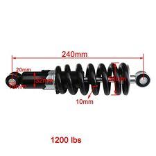 240mm Rear Shock Suspension for CRF50 SSR ttr klx 110 125cc TaoTao Dirt Bike su