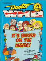 Doctor Who: It's Bigger on the Inside! Comedy book from DWM, 1988. %toCharityDo!