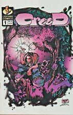 CREED #1  TRENT KANIUGA   GIANT-SIZE  LIGHTNING COMICS 1995  NICE!!