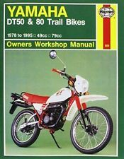 Yamaha DT Haynes Motorcycle Service & Repair Manuals