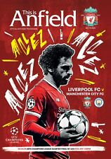 Liverpool v Manchester City - Champion's League Quarter Final - 04 April 2018