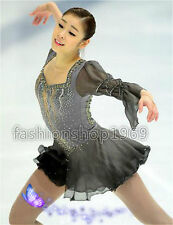 Ice Figure Skating Dress Baton Twirling Dance Dress Custom Competition Xx262
