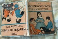 Vintage The Goody-Naughty Book by Sarah Cory Rippey 1935 illustrated