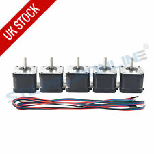 5pcs NEMA 17 Stepper Motor 44ncm 1.7a 38mm 4-wire for CNC 3d Printer Extruder