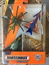 Matchbox On a Mission Sky Busters Strike Force Pack 4 Planes New In Sealed Box