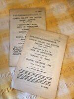 1937 London Midland And Scottish Railway Electrified Lines Instruction Books...