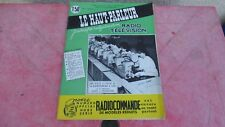 le Haut parleur journal de vulgarisation radio télévision n°1059 janvier  1963