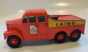 Matchbox Lesney King Size No.6 LAING Scammell 6X6 Diecast Tractor Nice