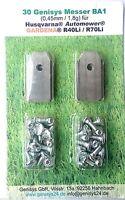 Messer Ersatzmesser mit Schrauben Mähroboter Gardena® R40Li R45Li R70Li 30 Stück