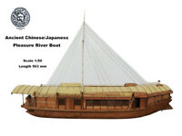 Ancient Chinese/Japaness pleasure boat 1:50 563mm Wooden model ship kit