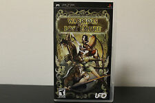 Warriors of the Lost Empire  (PlayStation Portable, 2007) *Tested